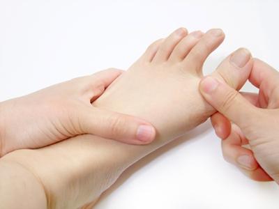 𧿹趾筋力検査